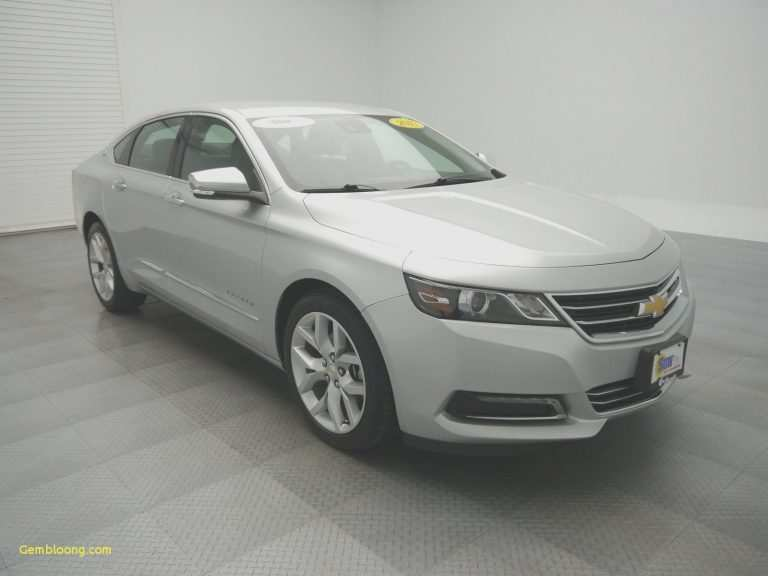 42 The Best 2020 Chevy Impala Ss Ltz Specs And Review
