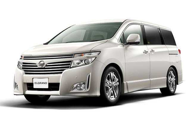 42 The Nissan Elgrand 2020 Speed Test