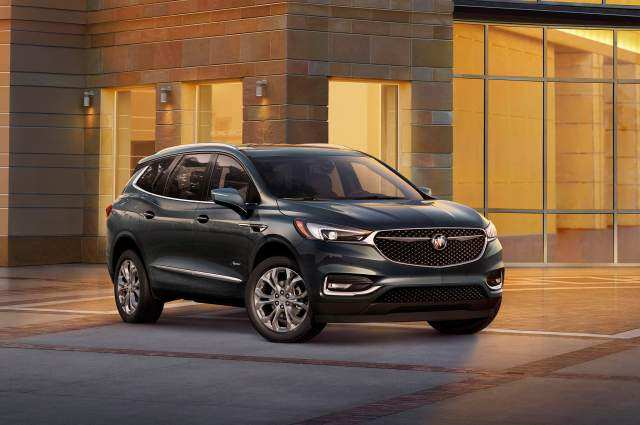 43 A 2019 Buick Enclave Spy Photos Exterior And Interior