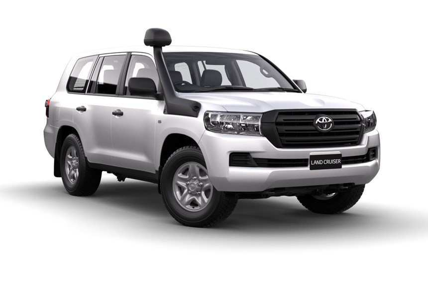 43 A 2019 Toyota Land Cruiser Pictures