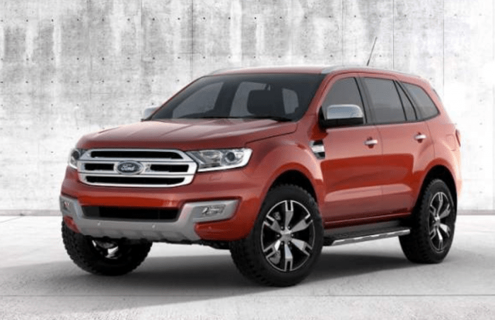 43 A 2020 Ford Everest Pictures