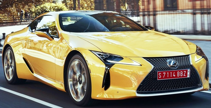43 A 2020 Lexus Lc 500 Convertible Price Picture
