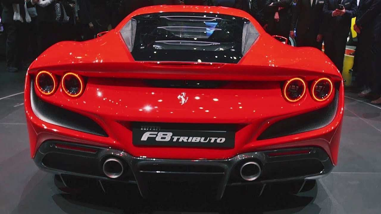 43 A Ferrari 2020 F8 Tributo Exterior And Interior