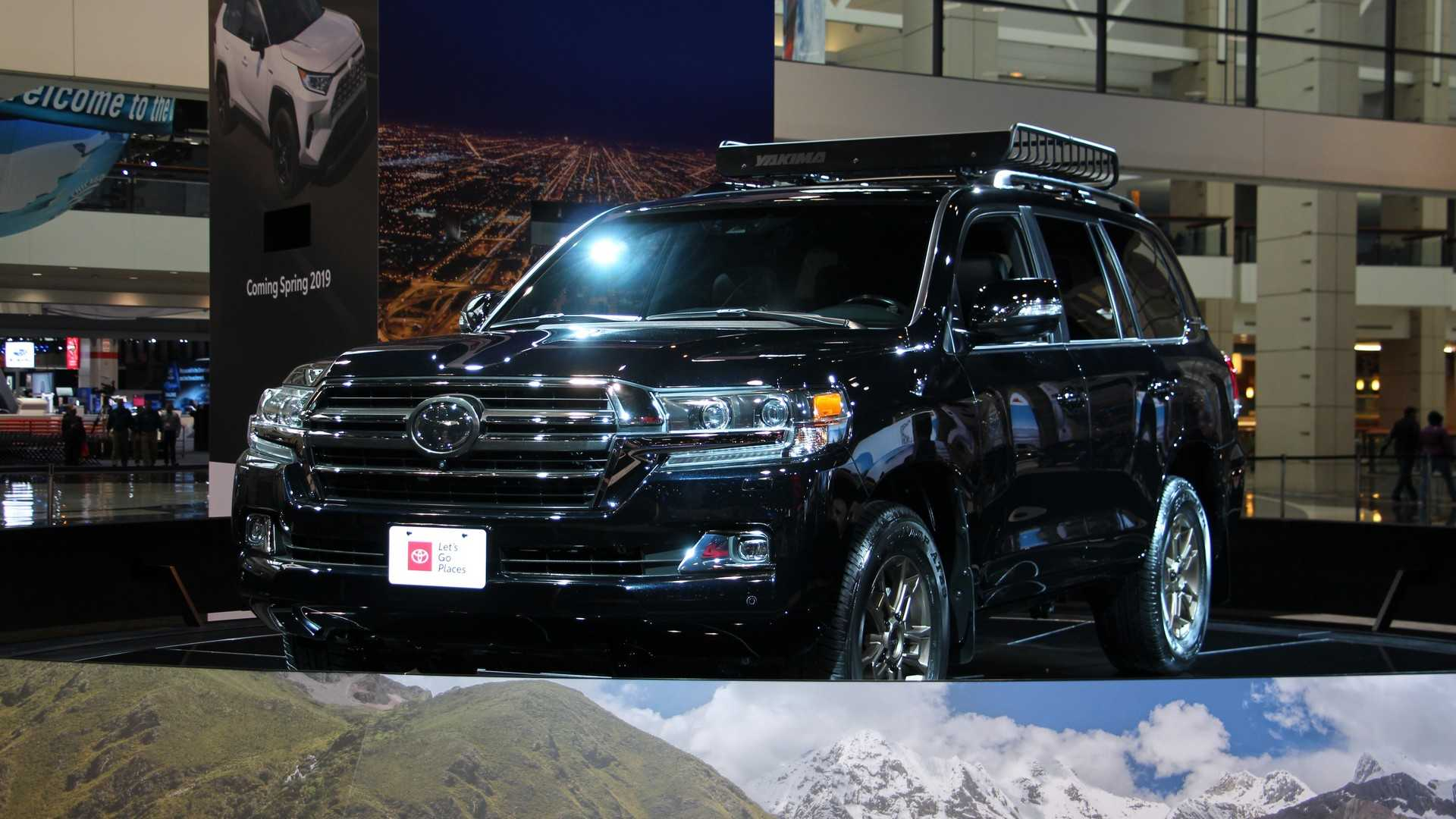 43 A Toyota Land Cruiser V8 2020 Rumors