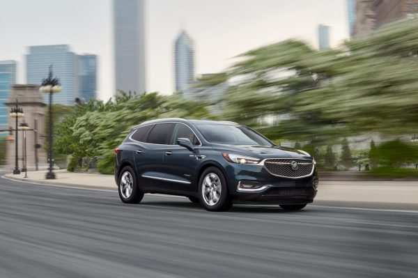 43 All New 2019 Buick Enclave Spy Photos Release Date And Concept