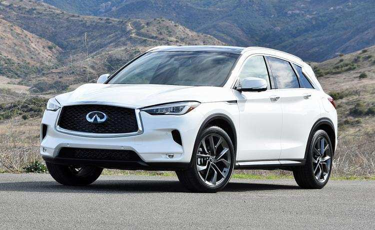 43 All New 2019 Infiniti Qx50 Luxe Interior Exterior And Interior