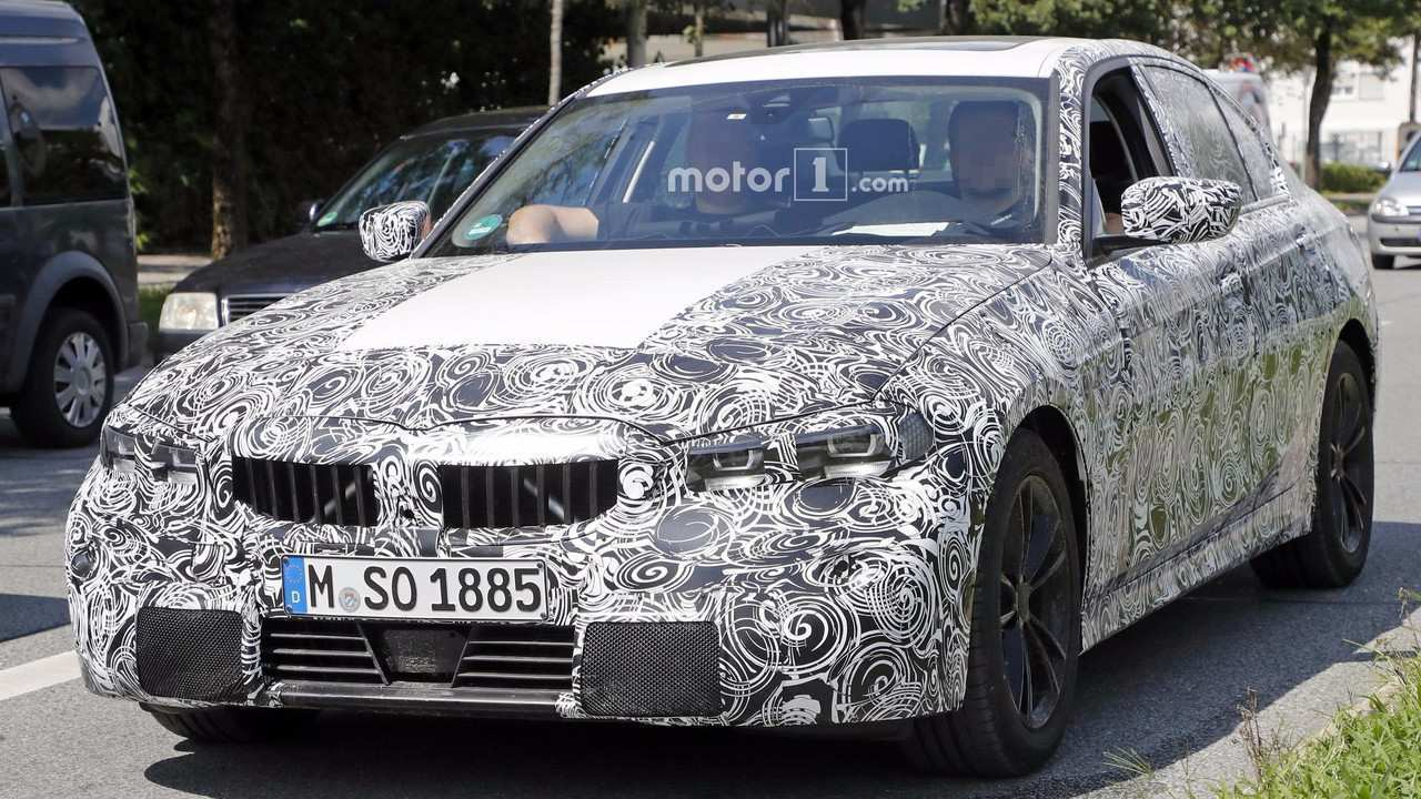 43 All New 2019 Spy Shots BMW 3 Series Exterior