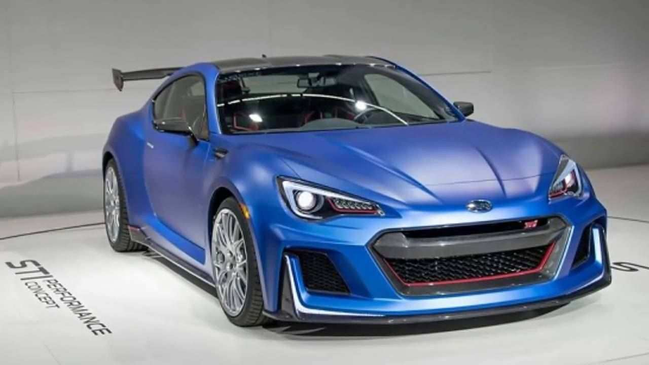 43 All New 2019 Subaru Brz Sti Spy Shoot