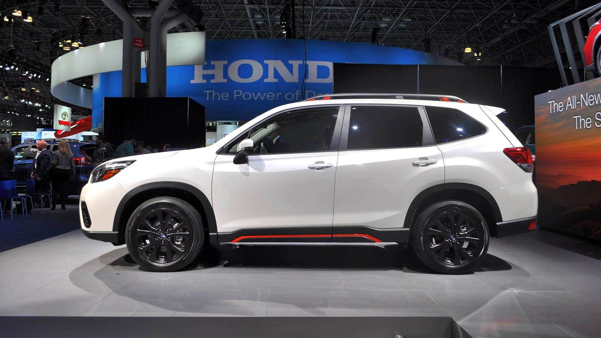 43 All New 2019 Subaru Forester Sport Redesign and Concept