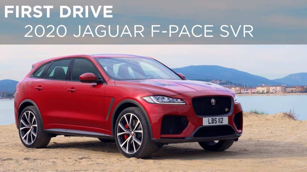 43 All New Jaguar F Pace Svr 2020 Concept