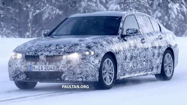 43 All New Spy Shots BMW 3 Series Concept