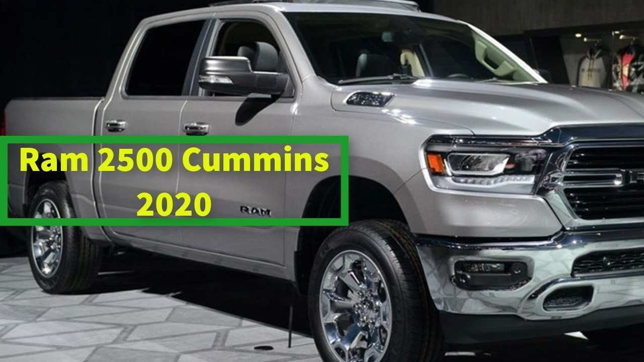 43 Best 2020 Dodge Ram 2500 Cummins Price And Release Date
