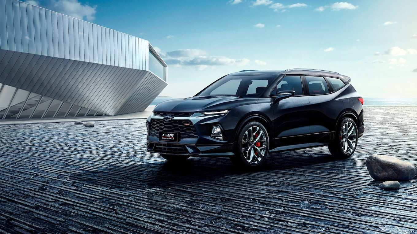 43 New 2020 Chevy Blazer Release Date And Concept