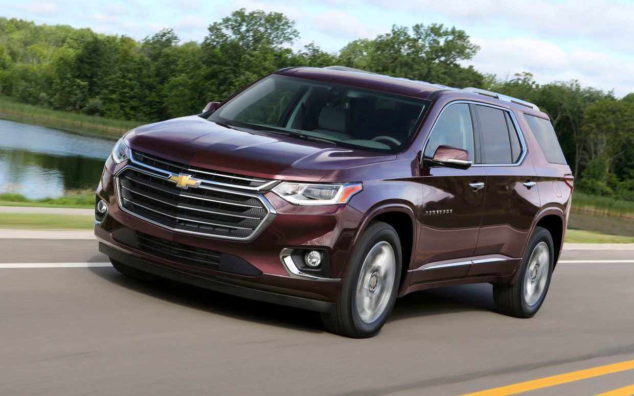 43 New 2020 Chevy Traverse Redesign And Review