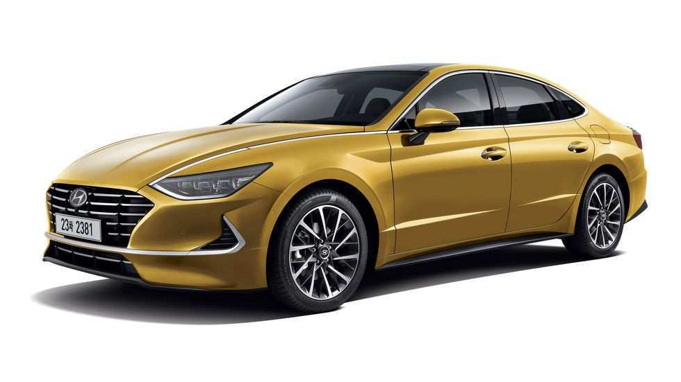 43 New 2020 Hyundai Sonata Yellow Research New