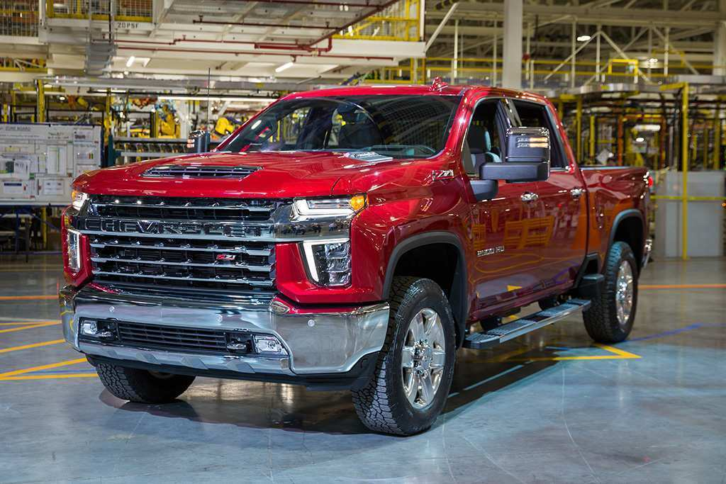 43 The 2020 Chevy Silverado 1500 2500 Redesign And Review