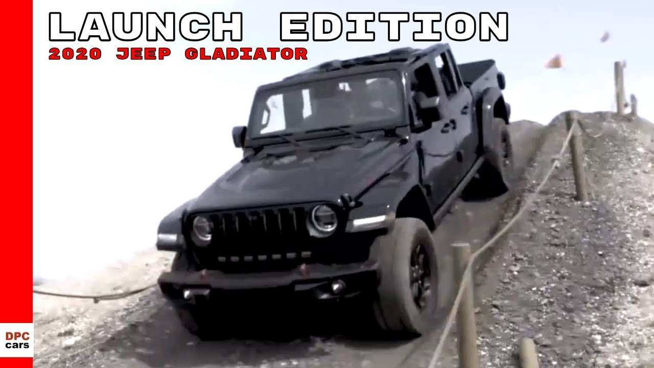 43 The 2020 Jeep Gladiator Launch Edition Release Date And Concept