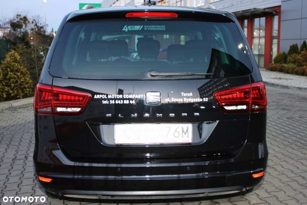 43 The 2020 Seat Alhambra Spesification