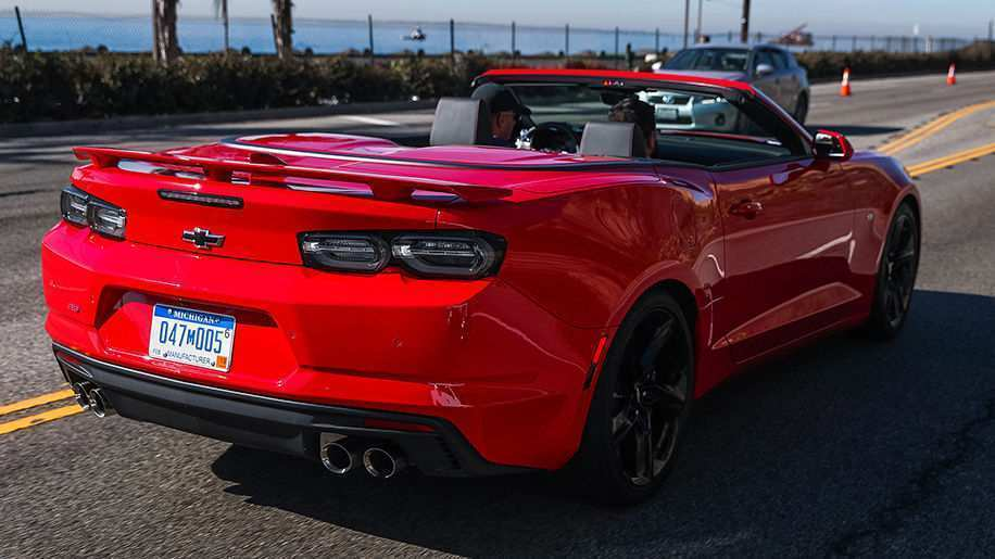 43 The Best 2019 The Camaro Ss Spy Shoot