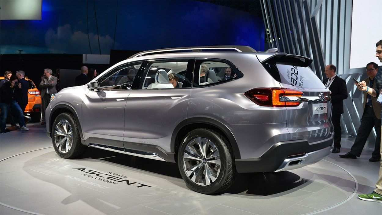 43 The Best 2020 Subaru Ascent Release Date Performance and New Engine