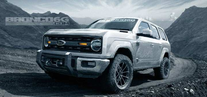 43 The Best Ford S New Bronco 2020 New Concept