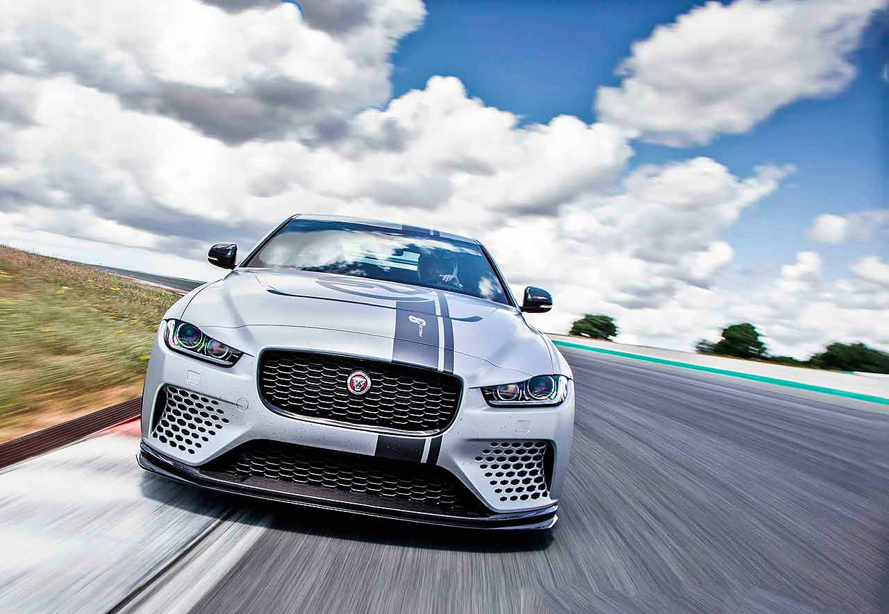 44 A 2019 Jaguar Project 8 Redesign
