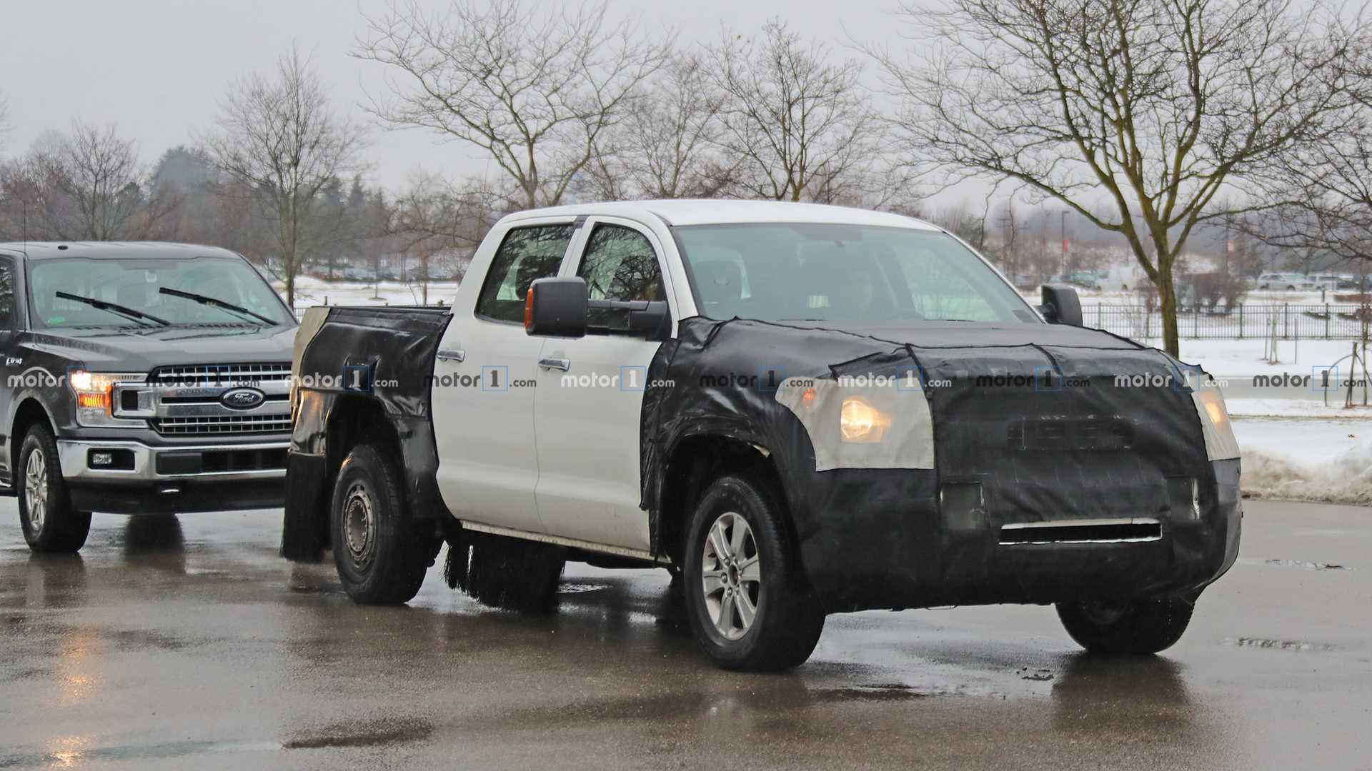 44 A 2020 Toyota Hilux Spy Shots Price And Review