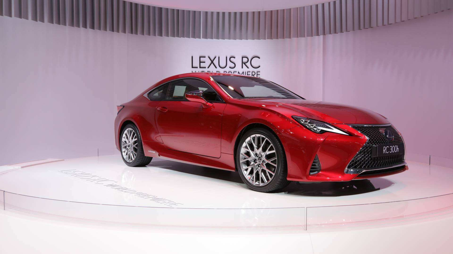 44 A Lexus 2019 Coupe Model