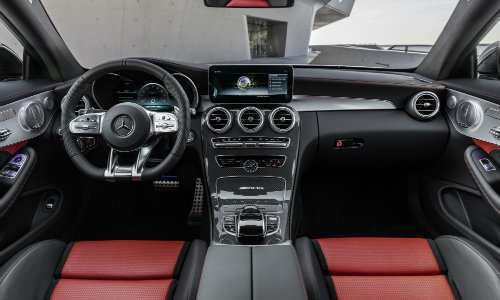 44 A Mercedes Benz C Class Facelift 2019 Interior
