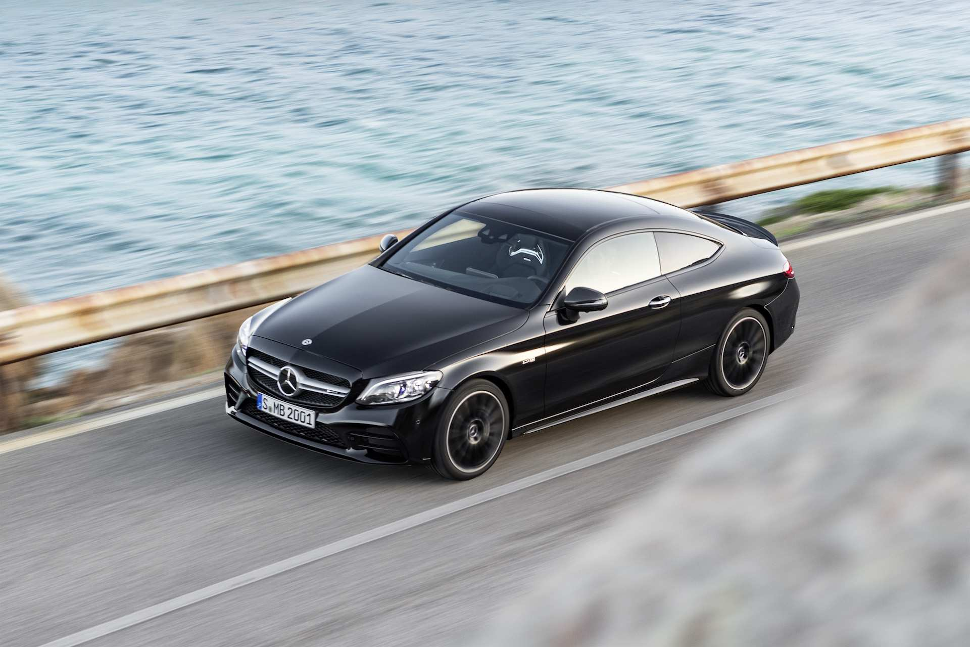44 A Mercedes C Class Coupe 2019 Engine