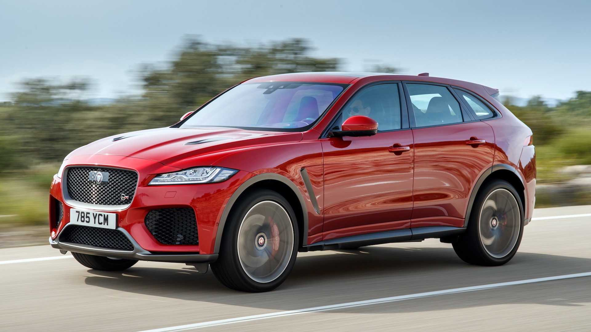 44 Best 2019 Jaguar F Pace Svr Interior