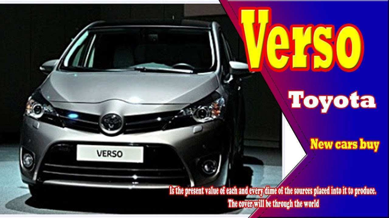 44 Best 2019 Toyota Verso Release