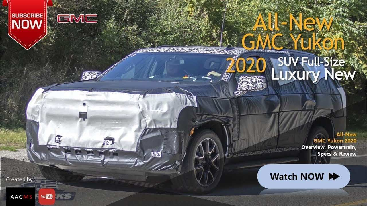 44 New 2020 GMC Yukon Spy Photos Redesign And Concept