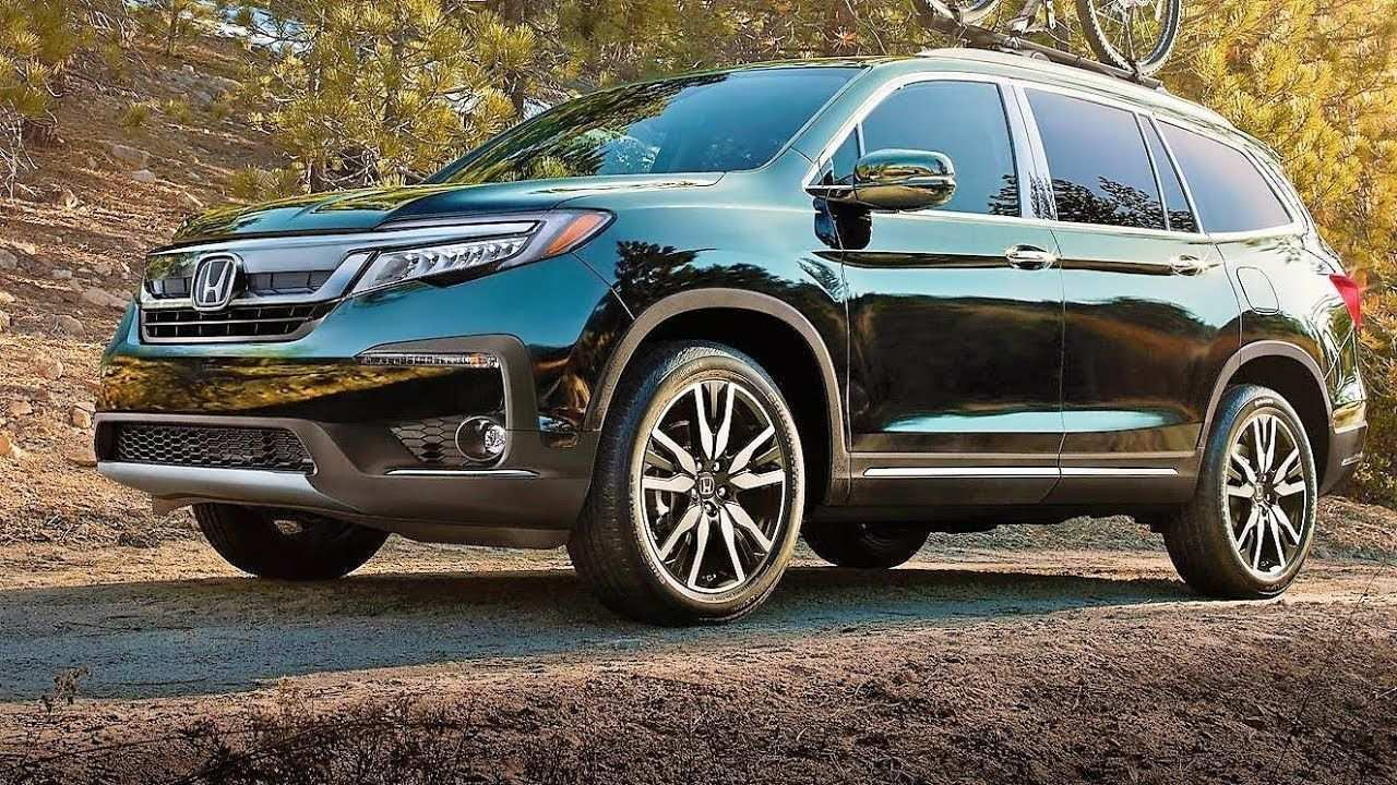 44 New 2020 Honda Pilot Spy Photos Engine