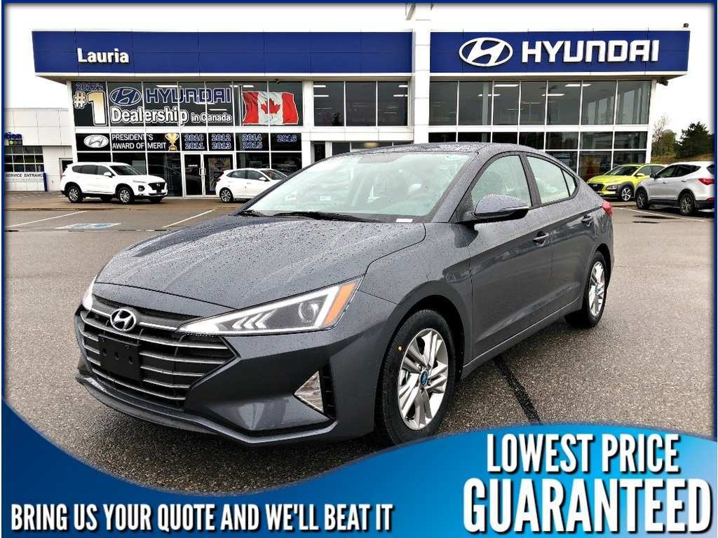 44 New 2020 Hyundai Elantra Sedan Spesification