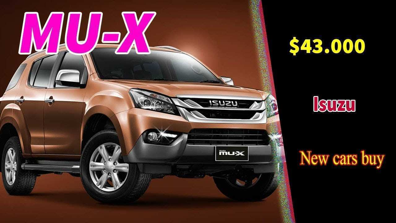44 New 2020 Isuzu MU X Redesign And Concept