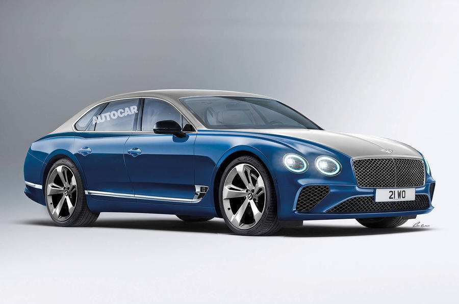 44 The 2019 Bentley Flying Spur First Drive
