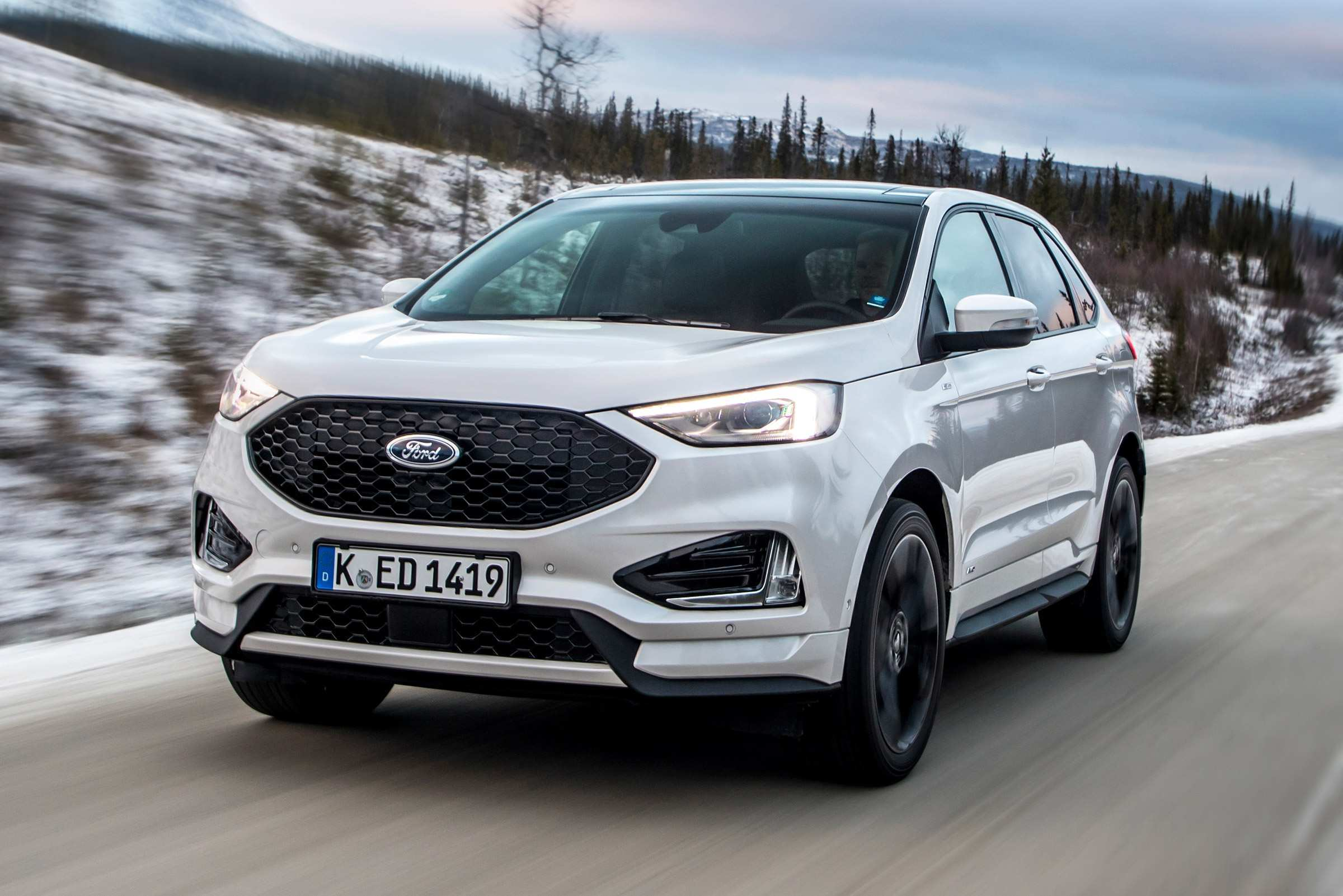 44 The 2019 Ford Edge New Design Photos