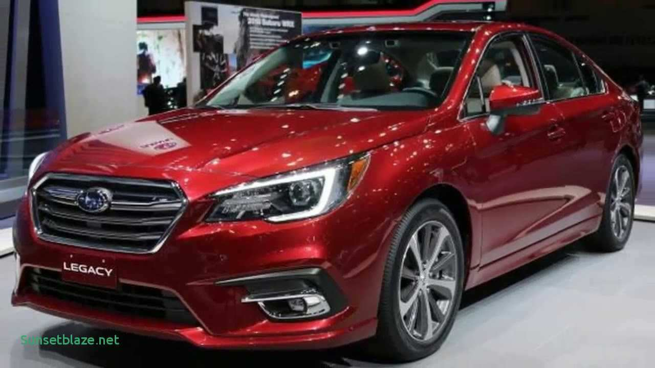44 The 2019 Subaru Legacy Turbo Gt Model