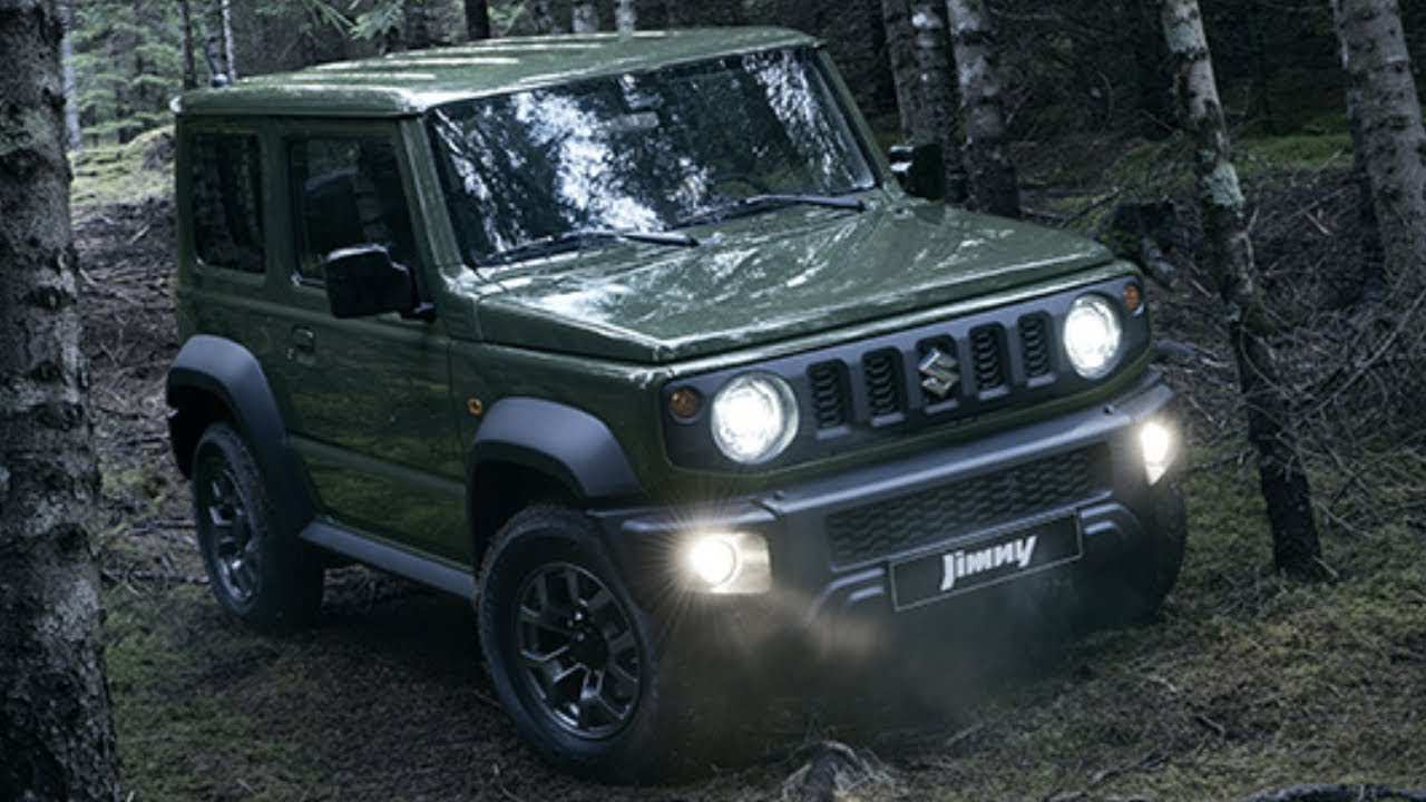 44 The 2019 Suzuki Jimny Model Engine