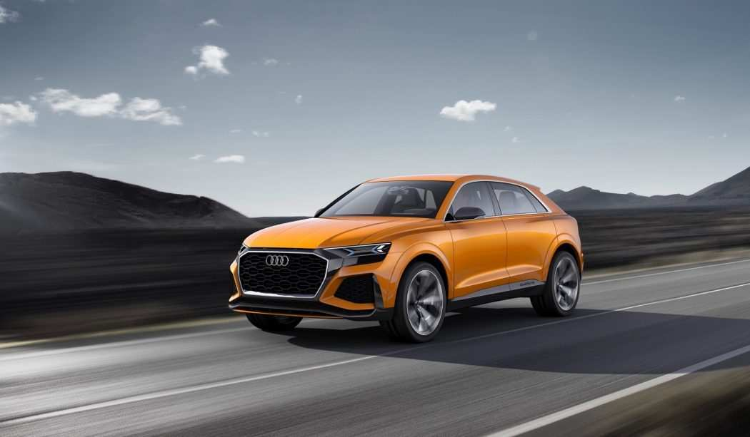 44 The 2020 Audi Q8 Speed Test