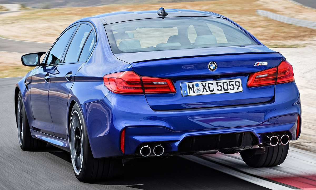 44 The 2020 BMW M5 Picture