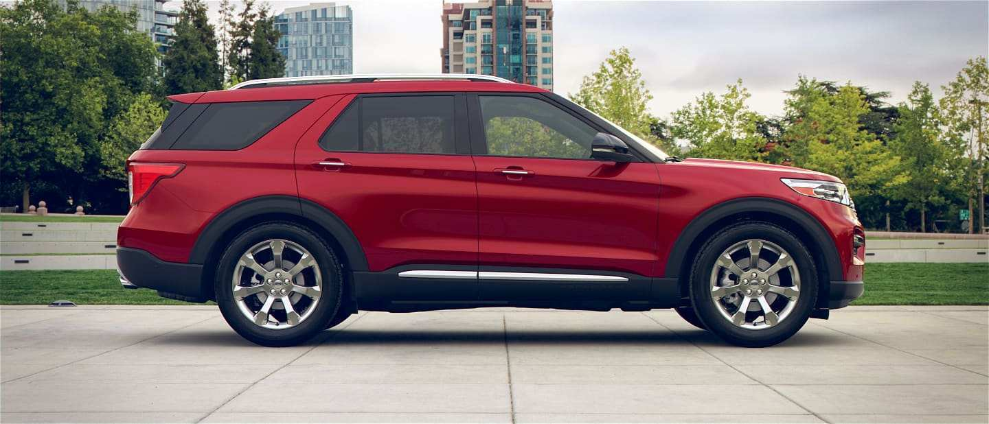 44 The 2020 Ford Explorer Spy Shoot