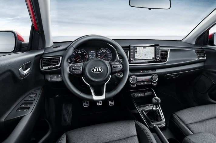44 The 2020 Kia Rio Interior