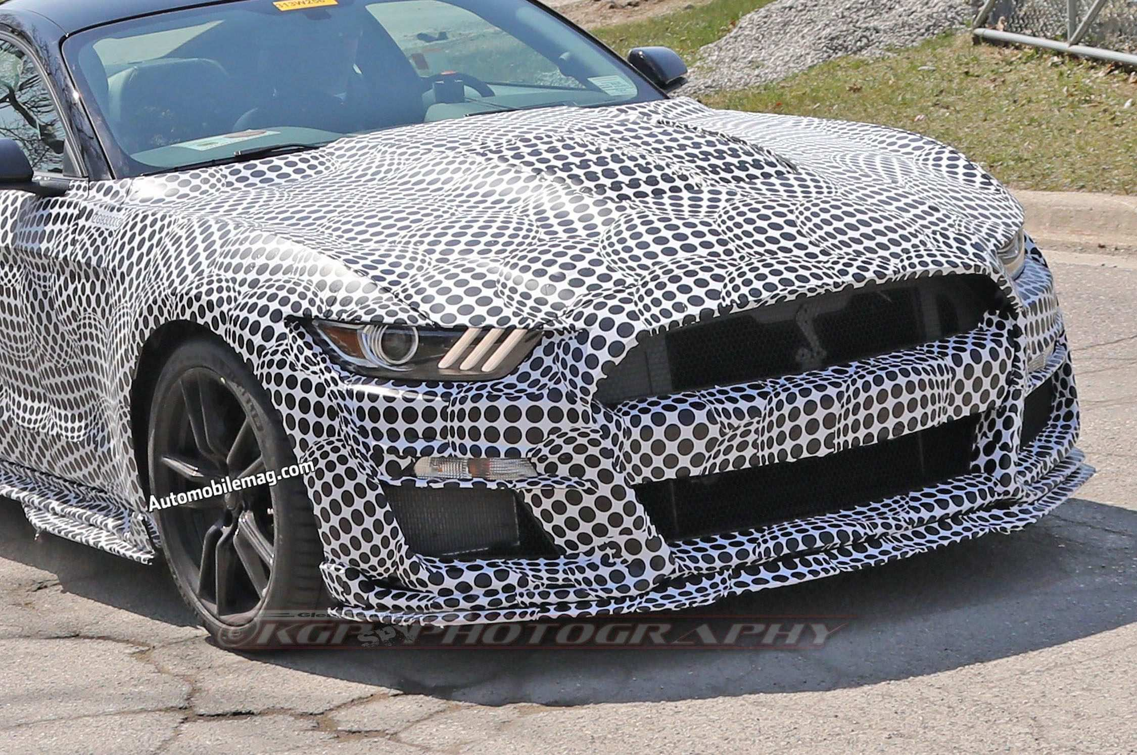 44 The 2020 The Spy Shots Ford Mustang Svt Gt 500 Pictures