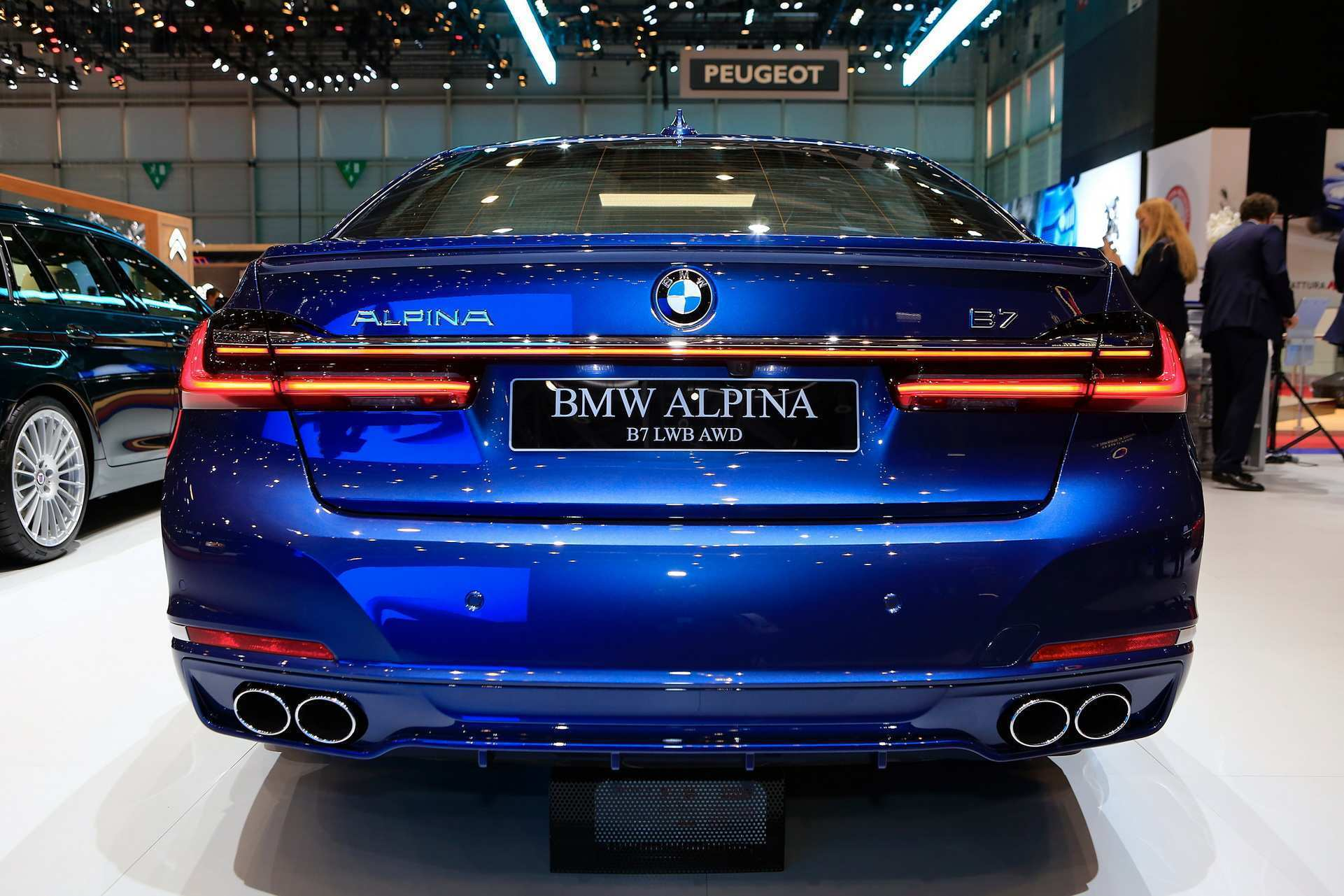 44 The BMW Alpina B7 2020 Prix Pricing