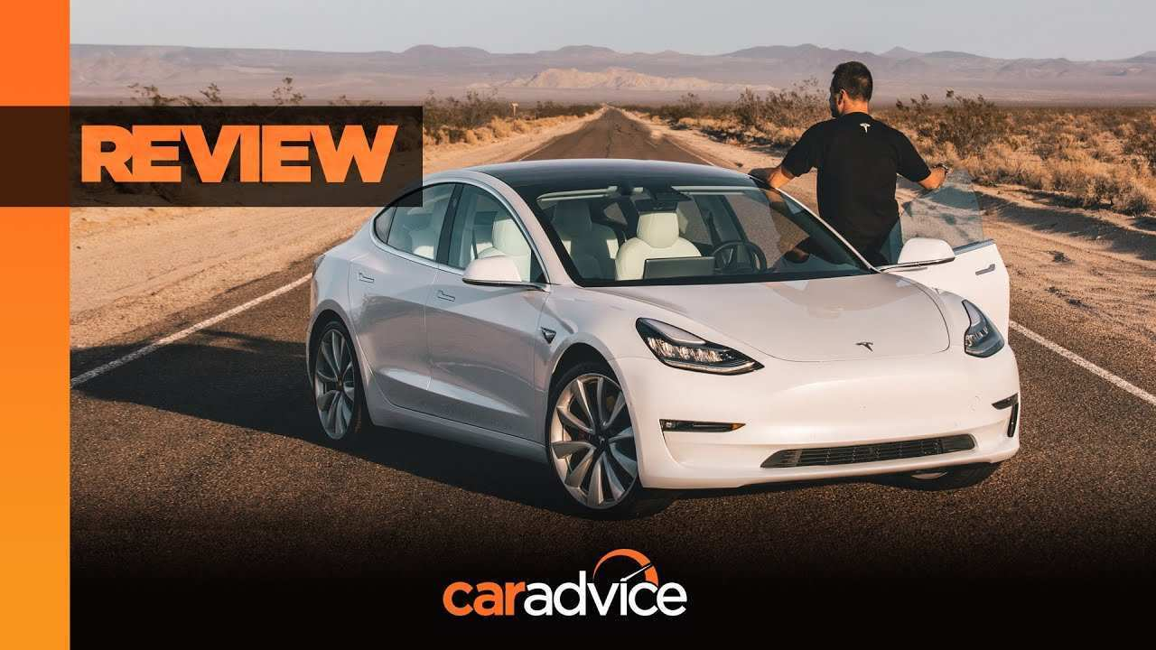44 The Best 2019 Tesla 3 Spy Shoot