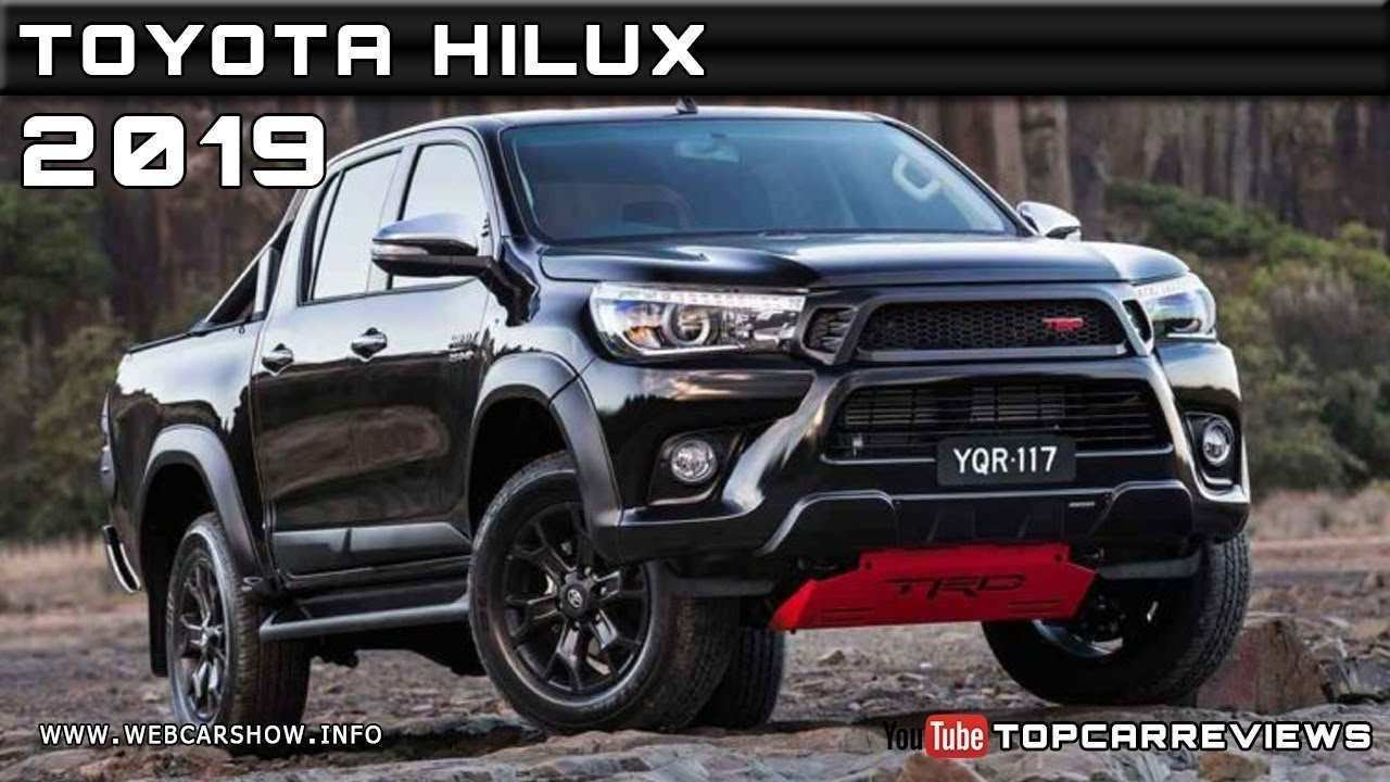 44 The Best 2019 Toyota Hilux Spy Shots Redesign And Review