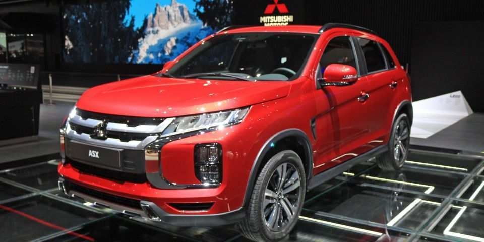44 The Best 2020 All Mitsubishi Outlander Sport Redesign And Review