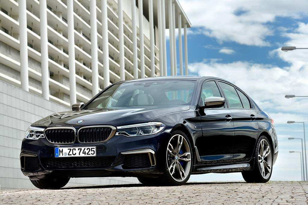 45 A 2019 BMW 5 Series First Drive